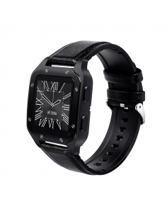 Reloj Smartwatch Colmi Land 2/ Leather Black/ Land2-bl