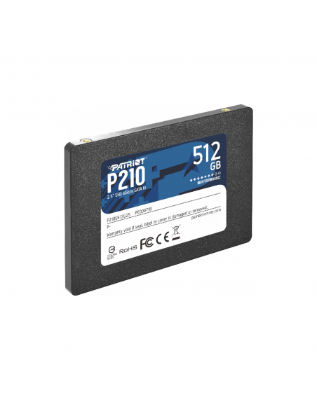 Hd Ssd 512gb Sata3 2.5 Patriot P210