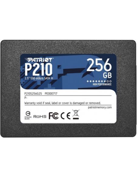 Hd Ssd 256gb Sata3 2.5 Patriot P210