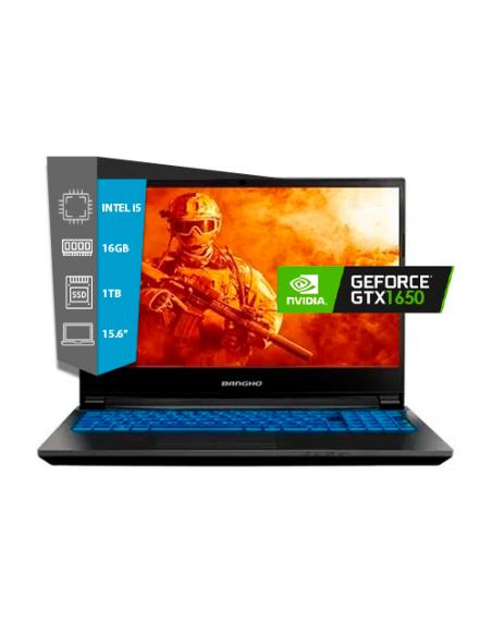 Notebook Bangho Intel I5-10300h Game Master Gm-15z10 15,6´´ Fhd/16gb 2666mhz/ssd 1tb M.2/gtx 1650 4gb Ddr6/ *free D.o.s. G6