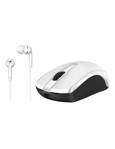 Combo Mouse Genius Mh-7018 + Auricular Mp3