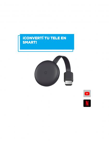 Chromecast 3 Generacion Ga00439-us