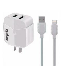 Cargador con cable Usb Tipo Iphone Nsfu524ui Nisuta
