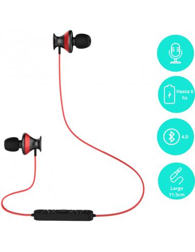 Auricular Bluetooth 4.0  Instto Inrun9