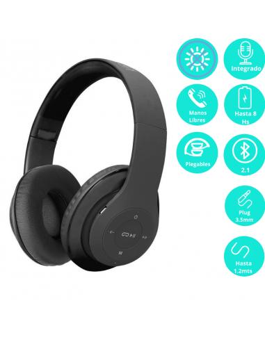Auricular Bluetooth Klip Pulse Khs-628bk