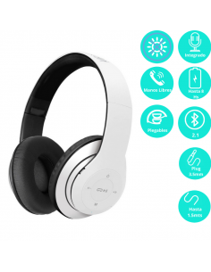 Auricular Bluetooth Klip Pulse Khs-628wh