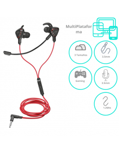Auricular Gamer Trust Cobra Multi Plataforma Gxt 408