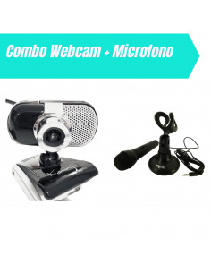 Webcam Kanji 355 + Microfono Nisuta Mic180