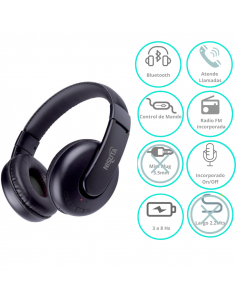 Auricular Bluetooth Nisuta Ns-aub34