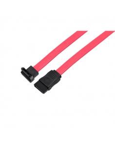 Cable S-ata Datos Conector A 90 Grados De 50 Cm Casea