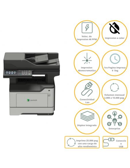 Impresora Lexmark Laser Mx522adhe