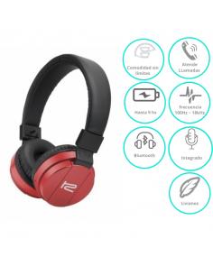 Auricular Bluetooth Klip Fury Khs-620rd