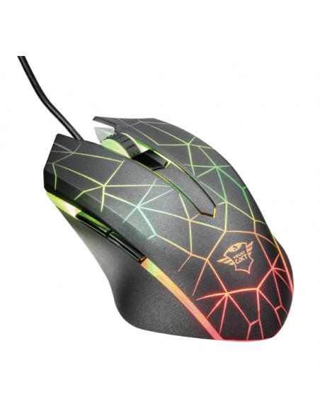 Mouse Gamer Heron  Rgb Gxt 170