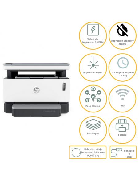 Impresora Hp Laser Neverstop 1200nw