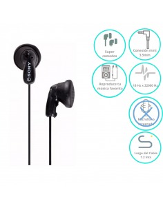 Auricular Sony In Ear  Mdr-e9lp