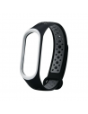 Malla Deportiva Bicolor Negro/gris Smartband Xiaomi Miband 3/4