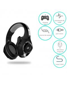 Auricular Nisuta Gaming Ns-aug300 Gris