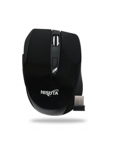 Mouse Nisuta Wifi Mini Nsmow35 Negro