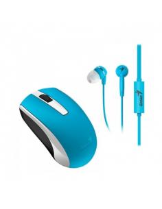 Combo Mouse Genius Wifi Mh-8100 Azul