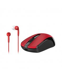 Combo Mouse Genius Wifi Mh-8100 Rojo