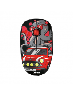 Sketch Silent Click Wireless Mouse - rojo