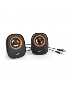 Parlante Genius Usb Sp-q160  Orange