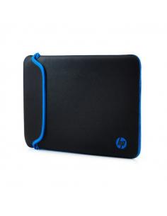 """Funda para Notebooks de 14"""" HP-Negro con Azul"""