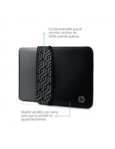 Funda Notebook Hp 14 Reversible Gris/negro 2tx16aa