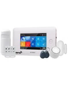 Seg Kit Alarma Zuden Wifi/gsm Zdas-f3 +2 Crtl+1 Pir+1 Mag+2 Tags+bat+fuente