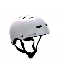 Casco Vertigo Monopatin/bici Blanco Mate Talle L