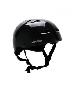 Casco Vertigo Monopatin/bici Negro Brillo Talle S