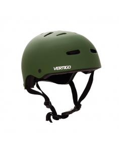 Casco Vertigo Monopatin/bici Verde Mate Talle M